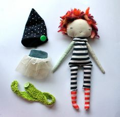 punky little lu doll 12 inch ish circus girl with by humbletoys