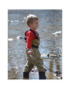 Toddler & Children's Breathable Waders, Tan | Oakiwear - Rain Gear, Kids rain suits, kids waders, kids rain gear, and kids rain coats