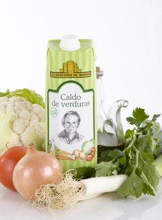 Diseño Caldo de Verdura para Bertín Osborne Alimentación (antigua)