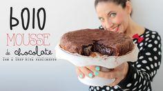Bolo Mousse de Chocolate - YouTube