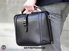 Artphere Entreprenuer Compact Men's Briefcase by Beylerian Collection