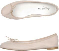 Repetto Brigitte Bardot Lambskin Flats in Pink (blush) -