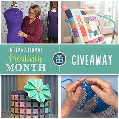 Only ONE week left to win Craftsy classes for free! Enter our Win Your Wishlist Giveaway for the chance to receive five classes of your choice.