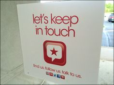 Macys Let's Keep In Touch Social Media Store Entry Outreach