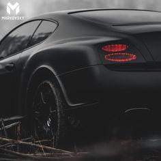 Matte Black Bentley Continental Photoshoot @MrRayvaughn