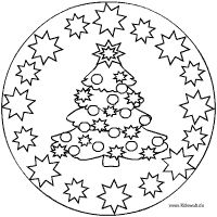 Weihnachtsbaum Mandala Mandala Coloring, Colouring Pages, Coloring Sheets, Coloring Books, Candlewicking Patterns, Applique Patterns, Christmas Colors, Christmas Art, Christmas Ornaments