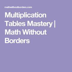1057 best Kids Math Multiplicaton images on Pinterest | Math ...