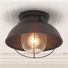 Salt Marsh Cottage: Light Fixtures on a Budget