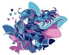 My beloved daughter Lucina from Fire Emblem: Awakening ♥