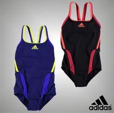 acf73335f3 Junior Girls Genuine Adidas Crew Neck Infinitex Plus Swimsuit Size Age 7-13  Yrs | Swimwear | Girls' Clothing (2-16 Years)