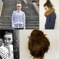 I love the high bun... but my hair just does not stay put