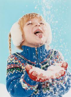 Snow Ice Cream Recipes - Make Ice Cream Using Snow-follow recipe #1 w/ sweetened condensed milk and vanilla