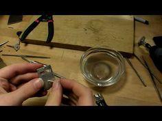 metalsmithing video with Dremel finishing tips