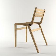 Stackable Chair oak £120