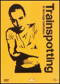 DVD CINE 1688 -- Trainspotting (1996) Reino Unido, Dir.: Danny Boyle. Drama. Drogas. Sinopse: Mark Renton é un mozo escocés adicto á heroína, do mesmo xeito que o resto dos seus amigos, os cales se crearon un mundo moi particular. Entre o grupo hai un violento e alcohólico psicópata, un drogadicto desesperado, un mullereiro cun coñecemento enciclopédico de Sexan Connery e un entusiasta das camiñadas e obsesivo de Iggy Pop.