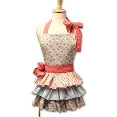 Förkläde av quilttyger