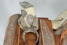 Important 1890s, Charro Saddle by Distinguished Mexican Artisans. Brian Lebel's Old West Auction, June 11, 2016. Est. $20,000-25,000.