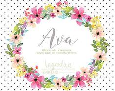 Acrilico Floral clipart PNG Bouquet de flores para Boda