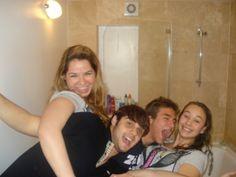 Bathroom party
