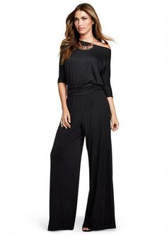 2ffe62be9b98 I ve been wanting a jumpsuit! Spoon Off-The-Shoulder Knit Jumpsuit - Tall  Jumpsuits Overalls - Alloy Tall - Alloy Apparel