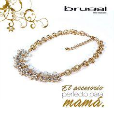 Mamá lucirá hermosa este 10 de mayo con un bonito regalo.  Regala amor, regala #Brugal. Compra aquí: http://brugalaccesorios.com/