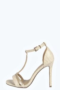 Chelsea T Bar Chain Mail Trim Two Part Heels. Grab wonderful discounts up to 60% Off at Boohoo using Coupon & Promo Codes.