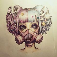 Imagem de art, drawing, and hair