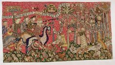 Tapestry from Strasbourg, about 1420.