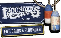 Home | Flounders Chowder House HAVE to eat here!