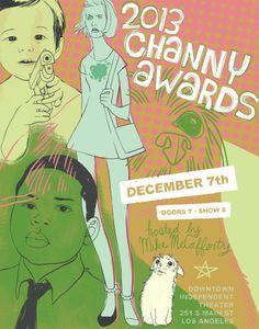 2013 Channy Awards | julia vickerman