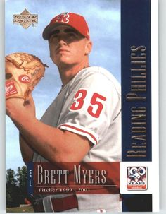 2001 Upper Deck Minors Centennial (UD Minor League) 87 Brett Myers - Philadelphia Phillies (Baseball Cards) -- Check out this great product.