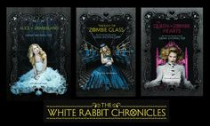 White Rabbit Chronicles by Gena Showalter: http://www.thereadingcafe.com/cover-reveal-the-queen-of-zombie-hearts-by-gena-showalter/