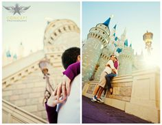 Laura + Bryan / Disney Engagement Shoot » Concept Photography