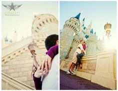 Laura + Bryan / Disney Engagement Shoot » Concept Photography