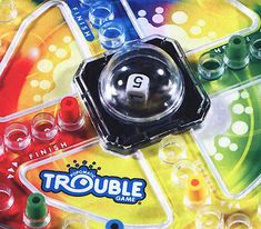 Trouble (with the Pop-o-matic bubble)