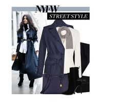 """""""NYFW Street Style"""" by boho-at-heart ❤ liked on Polyvore featuring French Connection, COSTUME NATIONAL, Elizabeth and James, Michael Kors, ALDO, StreetStyle and NYFW"""