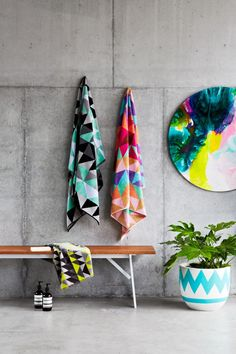 Stunning towels   Ziporah