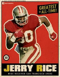 San Francisco 49ers legend Jerry Rice