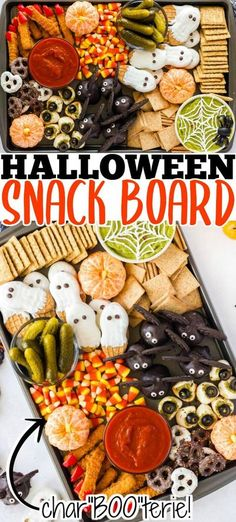 Halloween Party Appetizers, Halloween Desserts, Halloween Food For Party, Party Snacks, Easy Halloween, Halloween Treats, Halloween Apps, Creepy Halloween Food, Halloween Birthday