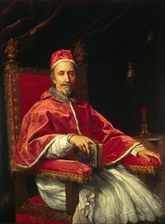 Hahnemuhle PHOTO RAG Fine Art Paper (other products available) - Portrait of Pope Clement IX Found in the Collection of Musei Vaticani in Viale Vaticano, Rome. - Image supplied by Heritage Images - Fine Art Print on Paper made in the UK A4 Poster, Poster Prints, Art Prints, Jean Xxiii, Bonnet Phrygien, Costume Renaissance, Italian Renaissance, Renaissance Art, Juan Pablo Ii