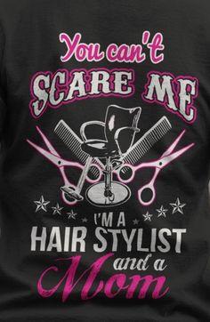 Hair stylist and mom