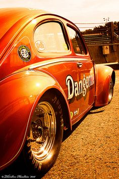 Dangerine VW Bug