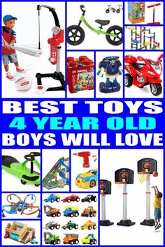 Best Gifts And Toys For 4 Year Old Boys 2019 Gifts For