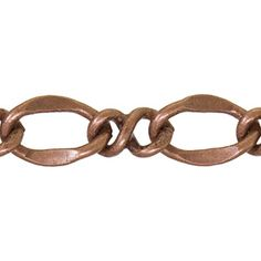 4.3mm Antique Copper Plated Base Metal Figure-8 Chain ~ product I love
