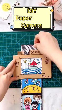 Diy Crafts Hacks, Diy Crafts For Gifts, Paper Crafts For Kids, Diy Crafts Videos, Diy For Kids, Fun Crafts, Craft With Paper, Diy Gifts Paper, Diy Handmade Toys