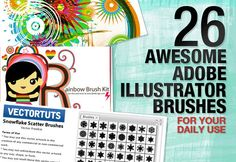26 Awesome Adobe Illustrator Brushes for Your Daily Use