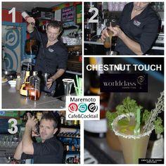 """Último día del puente! aprovéchalo y ven a Maremoto Café & Cocktail a probar nuestro cocktail para #worldClass15 """"Chestnut touch"""""""