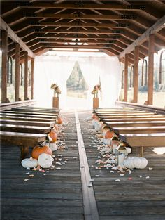 33 Fall Wedding Aisle Decorations to Blow Your Mind Away! 33 Fall Wedding Aisle Decorations to Blow Your Mind Away! Wedding Aisle Decorations, Wedding Bouquets, Pumpkin Wedding Decorations, Wedding Dress, Decor Wedding, Diy Wedding, Wedding Reception, Wedding Flowers, Fall Wedding Arches