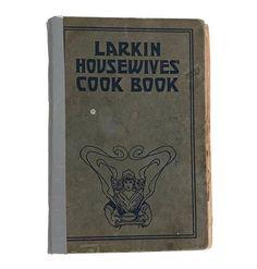 Vintage Cookbook Larkin Housewives 1917 Cook Book Recipes