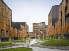 Conjunto de Viviendas Sociales Vivazz, Mieres / Zigzag Arquitectura